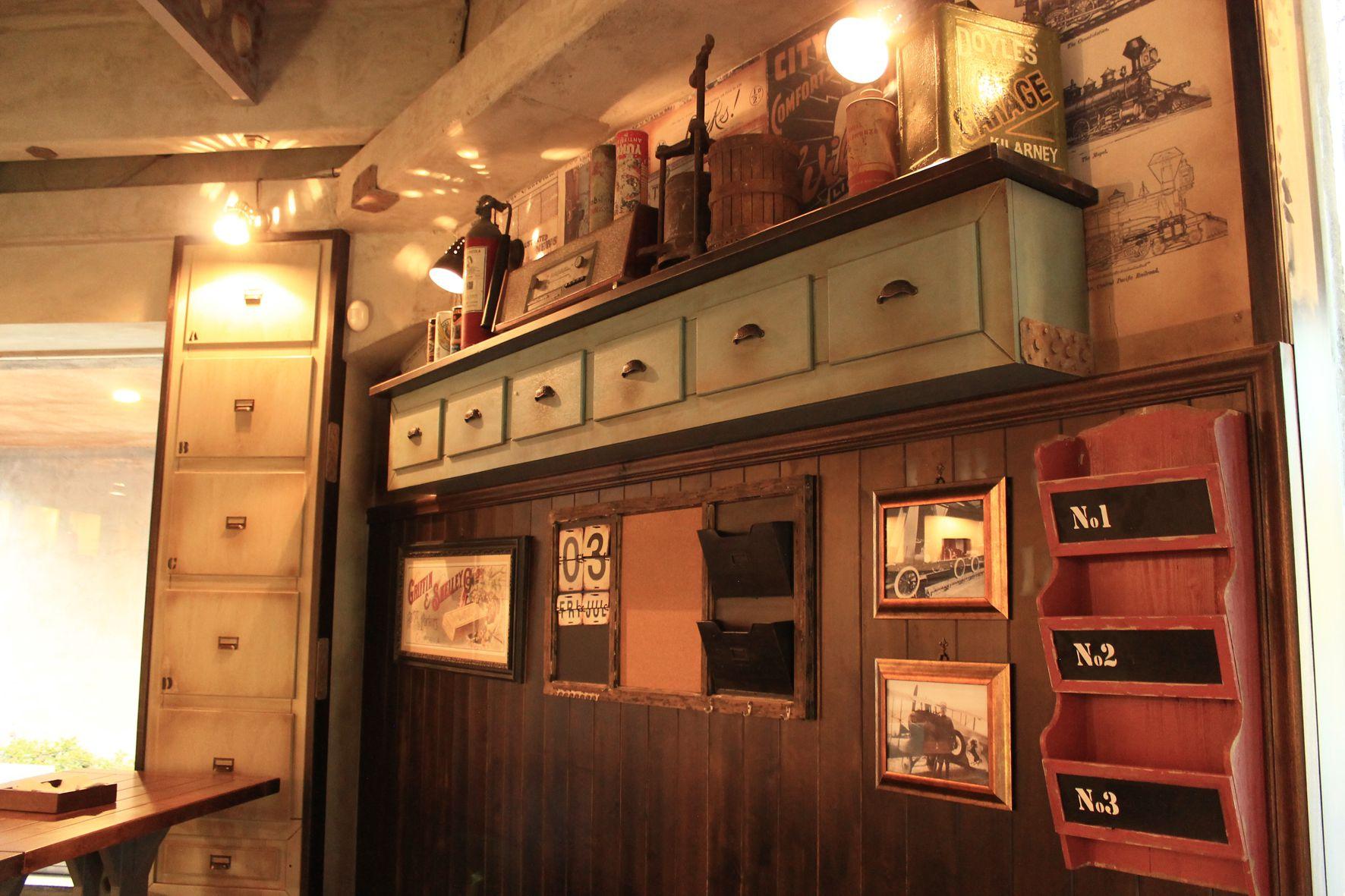 Ben noto Pizzeria - Vintage Archivi - Arredamento per pub, realizzazione di  DR35