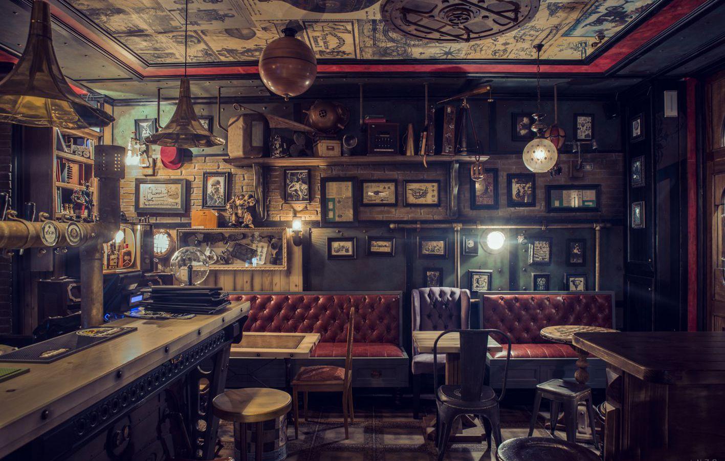 Steampunk archivi arredamento per pub realizzazione di for Arredamento per pub
